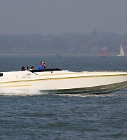 Trevor and Shelley Jory-Leighs US1 33 in the Solent